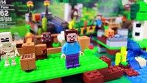 Giant Minecraft Surprise Creeper Steve Lego Farm Minecraft playset Mini Figures Blind Box