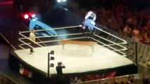 Seth Rollins suffers knee injury at WWE-Live-Event-in-Dublin,-Ireland