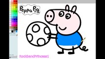 Peppa Pig Paint And Colour Games Online - Peppa Pig Painting ...