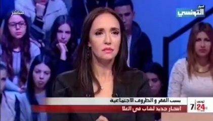 مريم بالقاضي تبكي على المباشر بسبب هذا الفيديو