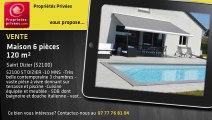 A vendre - Maison d'architecte - Saint Dizier (52100) - 6 pièces - 120m²