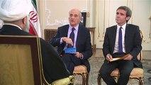 Nucléaire, Syrie, Israël : Hassan Rohani répond aux questions de Jean-Pierre Elkabbach