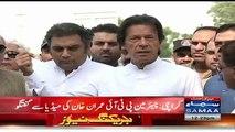 People of Sindh Want Change, ECP Is Controversial - Imran Khan Media Talk in Karachi