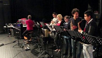 Répétition des Concerts de l'espoir à Revin