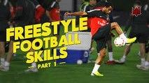 Freestyle Football Skills - Warm Up - 2015⁄2016 Pt.1 II Neymar Junior ● Freestyle(Warm Up) ● Part 1 | HD