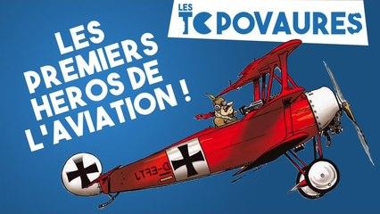 5 premiers héros de l'aviation - Les Topovaures #16