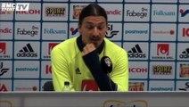 """-Sonore Zlatan Ibrahimovic """"J'ai mis la France sur la carte du monde"""""""