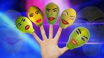 Finger Family Nursery Rhymes Papaya Fruit Cartoon _ Finger Family Rhymes For Children