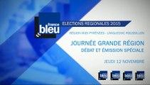 Le débat des régionales en Languedoc-Roussillon-Midi-Pyrénées