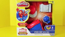 ❤ Play Doh Spider Man Super Tools Spiderman Play Dough ❤ Spider Web Spider Man Venom
