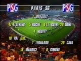 PSG 5 0 Steaua Bucarest : 1997/1998 UEFA CUP