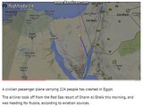 Egypt plane crash: Live updates as Russian passenger jet carrying 224 people crashes in Ce