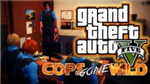 GTA 5 online COPS GONE WILD Police station, Meth Lab, Got Meth Epic chases,Funny interview