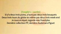 SCH - Liquide ft. Lacrim [ Paroles _ Lyrics ]
