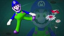 Finger Family Nursery Rhymes For Children Super Mario Cartoons For Kids _ Finger Family Rhymes