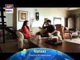 naraaz ary digital upcoming drama promo 10-faisal quraishi-sarah khan
