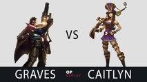 [Highlights] Graves vs Caitlyn - TDK Emperor KR LOL SoloQ