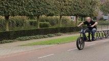 Le vélo le plus long du monde : 35m. Record du monde battu!