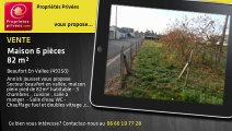 A vendre - Maison - Beaufort En Vallee (49250) - 6 pièces - 82m²
