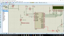 solar power automatic irrigation system using microcontroller