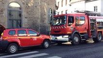 Fuite de gaz, rue Saint-Lazare