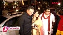 Ranbir Kapoor & Katrina Kaif at Anil Kapoor's Diwali party - Bollywood Gossip