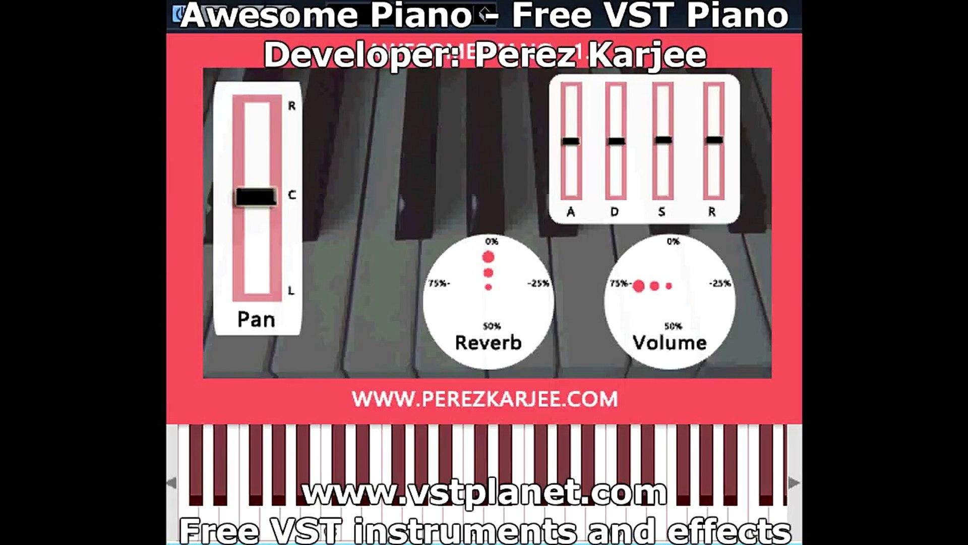 Virtual Piano VST / AU Plugin - vstplanet com