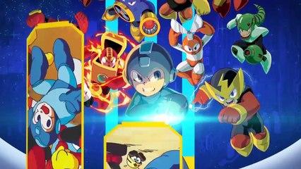 Trailer d'annonce  de Megaman Legacy Collection