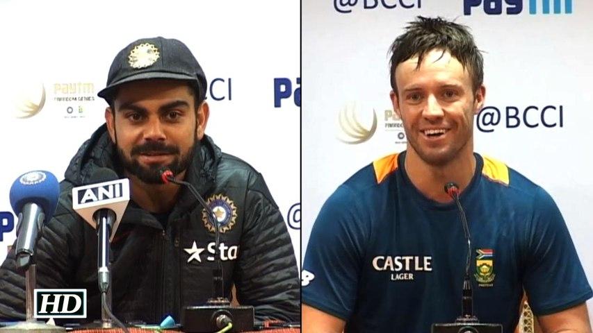 Virat Kohli vs De Villiers War of Words ahead of 2nd Test Match