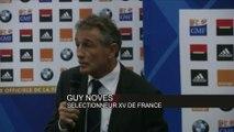 Rugby - Bleus : Novès «Rien de décidé avec Thierry Dusautoir»