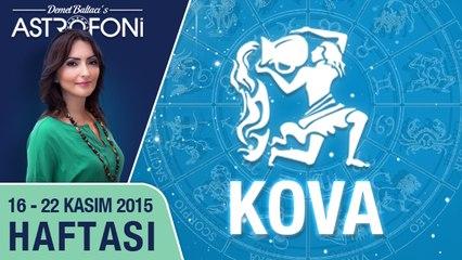 KOVA haftalık yorumu 16-22 Kasım 2015