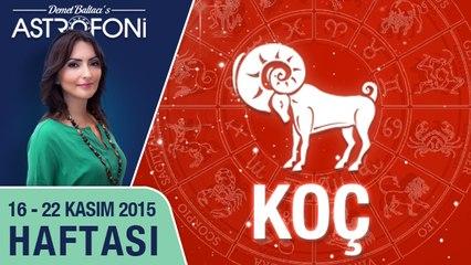 KOÇ haftalık yorumu 16-22 Kasım 2015