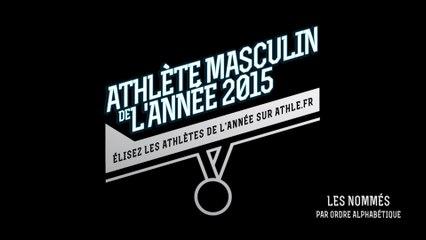 Athlète masculin de l'année 2015 : Les nominés