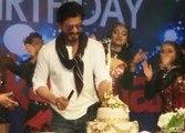 Shahrukh Khan Celebrating 50th BIRTHDAY With Cute Abram Khan