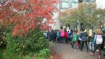 Onthulling 'Jonge Vrede' - 'Vredesbank' / Rotterdam Heijplaat 2015