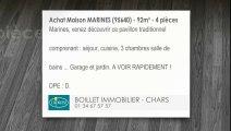 A vendre - Maison - MARINES (95640) - 4 pièces - 92m²