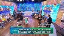 Cara a cara Ailen Bechara y Fernando Bertona cara a cara
