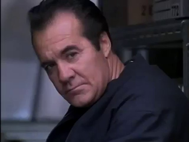 Paulie Walnuts getting ready to whack somebody