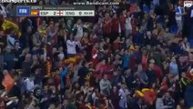 Santi Cazorla Goal - Spain 2 - 0 England - Friendly Match 2015