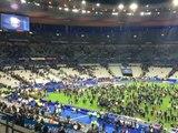botola :لحظة نزول الجماهير لأرضية ملعب باريس