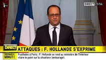 Fusillades à Paris : François Hollande décrète l'état d'urgence