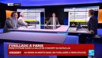 Attentats Paris - Ils ont crié Allah Akbar et ont tiré sur la foule - (témoin sur France Info)