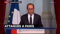 Discours de François Hollande suite aux attentats du 13 Novembre 2015