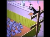 Sylvester and Tweety in TWEETY IN DOG POUNDED Part 1