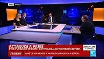 Attentats terroristes à Paris - Au moins 120 morts, bilan provisoire - 5 terroristes neutralisés