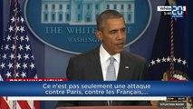 Liberté, Égalité, Fraternité: le soutien d'Obama en français après les attentats à Paris