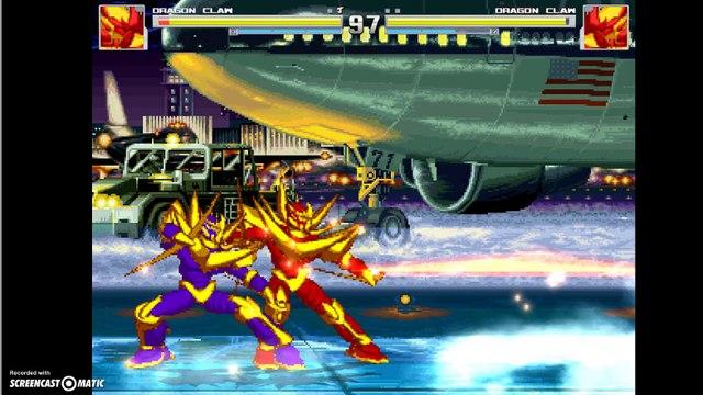 Dragon Claw VS Dragon Claw = AI Breaks!
