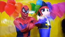 BIGGEST Spider-Man Surprise with Spider-Man Toys + Thomas & Friends Train Set by EpicToyCh