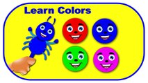 Learn Colors, Teach Colours, Baby Toddler Preschool Learn Videos - Indian Kids One