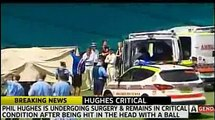 Phillip Hughes has DIED - cricketer Phillip Hughes DEATH after being hit on head by bouncer -